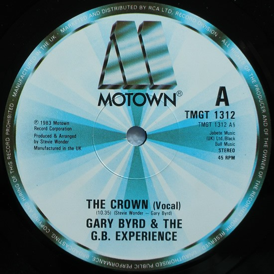 Gary Byrd The Crown 12 Quot Single Music Motown Uk