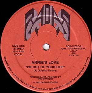 Arnies Love Im Out Of Your Life