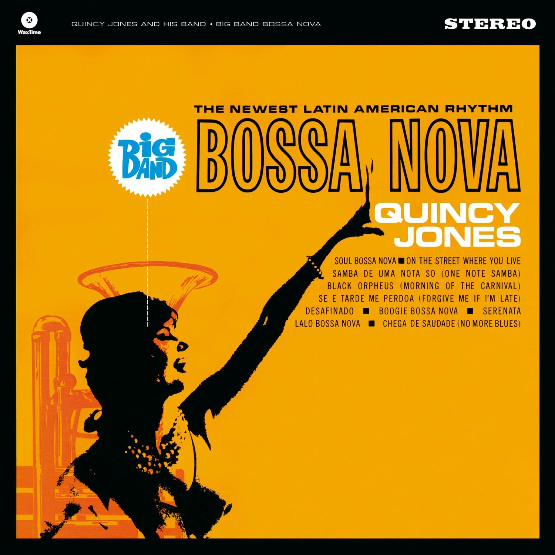 Quincy Jones Big Band Bossa Nova Lp Music Verve