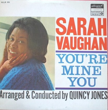 Sarah Vaughan You Re Mine You Lp Music Allegro Uk