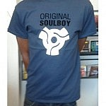 Original Soulboy Adapter T -Shirt Dark Blue - M