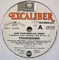 Touchdown Ease Your Mind US Remix