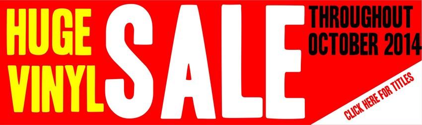 vinyl sale banner
