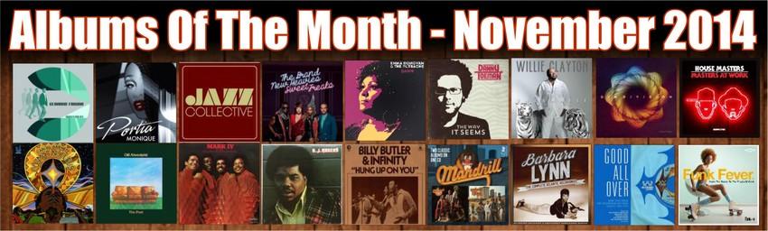 nov albums of month banner
