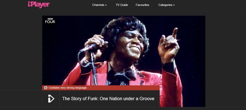 funk show banner