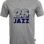 Soul Brother 25 Jazz T-Shirt Grey - S