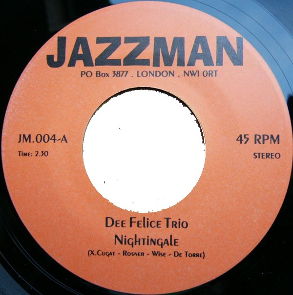 Dee Felice Trio The There Was A Time Never