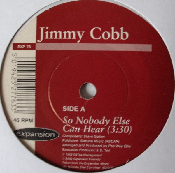 Jimmy Cobb - So Nobody Else Can Hear / Pistachio